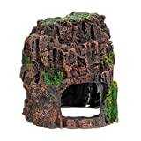 Rockery ornament - TOOGOO(R)Aquarium Deko Felsen Haeuschen Hoehle Stein Versteckt Felsenhoehle Fuer Fish Tank