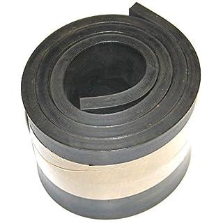 1000mm x 100mm x 8mm Gummistreifen