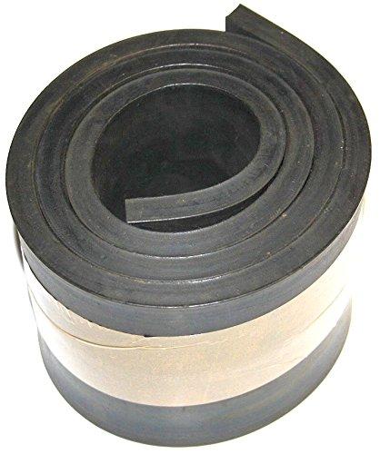 1000mm x 100mm x 10mm Gummiauflage, Gummistreifen Gummiplatte Gummimatte