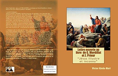 En ligne Lettre ouverte à JESUS ILLUSTRE ET INCONNU: Essai epub pdf