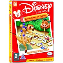Disney Learning Adventures In Typing With Timon And Pumbaa Ages 6+ (PC)