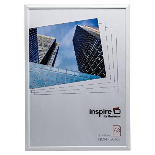 Hampton Frames EasyLoader Blanc a3 30x42 cm Certificat Photo Cadre sécurité plexi Verre Photo Ouverture easa3whp