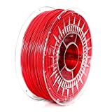 NuNus PETG Filament 1KG (1.75mm, rot) * PET-G - Polyethylenterephthalat * Premium Qualität in verschiedenen Farben,geeignet für 3D Drucker,3D Pen, MakerGear Ultimaker uvm