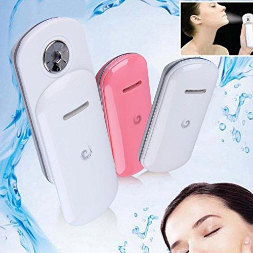 Generic Women Beauty Nano Moisturizing Spray Instrument Portable Handy Mist Hydrating Water Sprayer Device For Face Skin Care