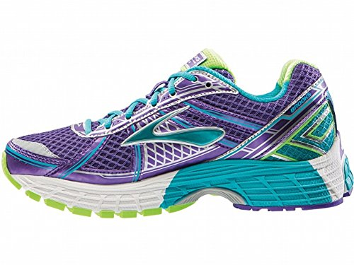 Brooks Kids Adrenaline GTS 15, Sneaker bambini ELECTRICPURPLE/BLUEBIRD/BRITEGREEN