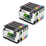 JARBO Kompatibel mit HP 932XL 933XL Druckerpatronen für HP Officejet 6100 6600 6700 7110 7610 7612 (2 Schwarz, 2 Cyan, 2 Magenta, 2 Gelb)