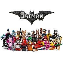 Veinte minifiguras de Batman y personajes de la peli de Lego