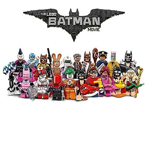SET COMPLET 20 figurines différentes BATMAN MOVIE Personnages LEGO 71017 Mini Figures