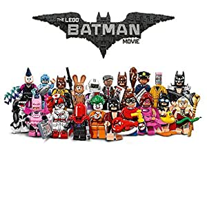 LEGO Serie Completa THE BATMAN MOVIE 20 Personaggi FIGURE Mini Figures 71017