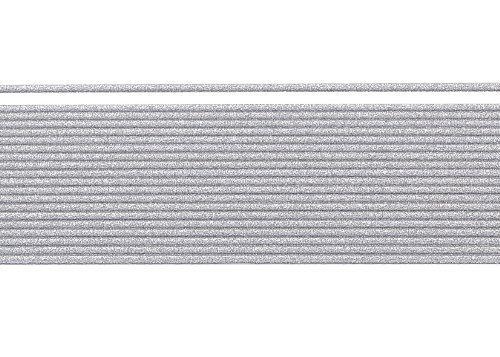 Wachsstreifen / Verzierwachs 'Alusilber (matt)' (20 Stück / 20 cm x 1 mm) TOP QUALITÄT