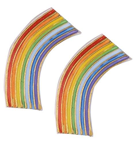 Dekoration, mehrfarbig, 55x 25mm, klein (Regenbogen Dekoration)