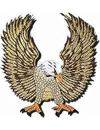 Parche volando Águila Oro Grande