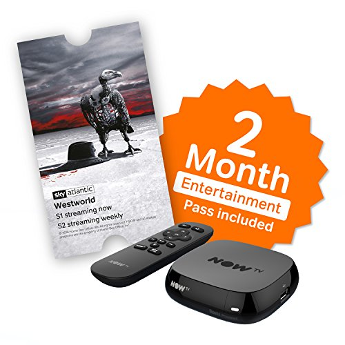 NOW TV Box with 2 Month Entertainment Pass and Sky Store Voucher Test
