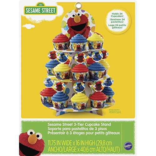 Wilton 1512-3470 Sesame Street Cupcake Tower, Multicolor by Wilton