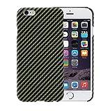 pitaka iPhone 6 / iPhone 6s Hülle mit Schutzfolie - schwarz/Geld 4.7 Zoll Schutzhülle Ultra dünn...