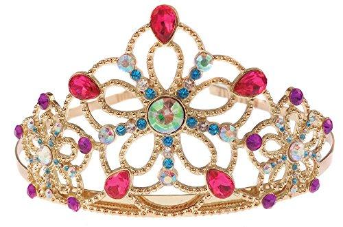 innen-Krone für Mädchen Gold Einheitsgröße ()