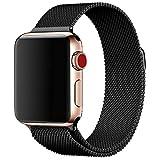 Cinturino in acciaio compatibile con per Apple Watch Band 38mm 42mm 40mm 44mm, compatibile con per iWatch serie 4/3/2/1