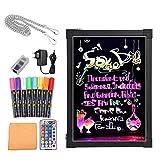Bordo di scrittura del messaggio del LED,Lavagna Luminosa a Led Disegno Tablet LCD Drawing con Telecomando, Ottima per Feste, Eventi, Vetrine (50x70cm)