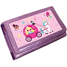 Princess Unicorn Animated 3D Pink Glitter Case (Nintendo 3DS XL /2DS XL) [Importación inglesa]