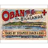 Photographic Print of Poster for Oban, Scotland