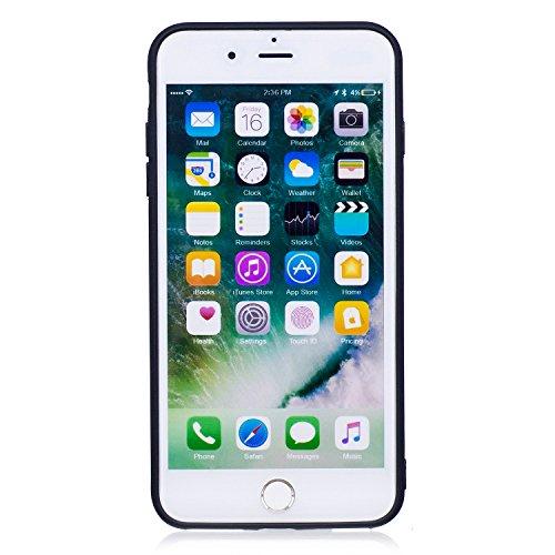 iPhone 7 Plus Coque, Voguecase TPU avec Absorption de Choc, Etui Silicone Souple, Légère / Ajustement Parfait Coque Shell Housse Cover pour Apple iPhone 7 Plus 5.5 (Kiss My Ass)+ Gratuit stylet l'écra papillon d'or 02