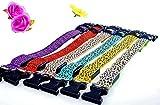 LED Halsband in verschiedenen Farben und Größen - Wasserdichte Halsbänder LED-Blinklicht-Band-Gurt für Haustiere Hunde und Katzen - Direktversand aus Deutschland von ETU24® (Grün, 60 Zentimeter)