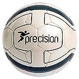 Precision Sao Paulo Futsal Ball Hand Sewn Football White/Graphite Size 4 rrp£18