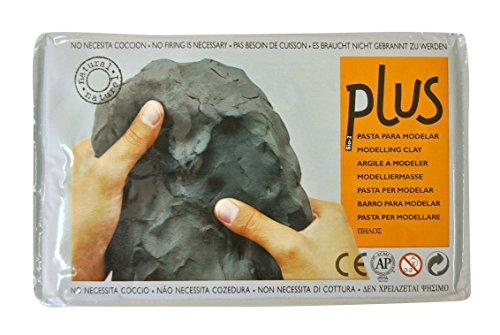 SiO2Plus Ton, Selbsthärtend, 1kg, schwarz (Plus Ton)