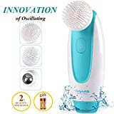 Sonic Vibration Facial Cleansing Brush TANAAB - Oscillating Silicone Set Waterproof Gentle