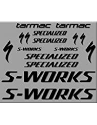 PEGATINAS S-WORKS TARMAC BIKE R272 STICKERS AUFKLEBER DECALS AUTOCOLLANTS ADESIVO
