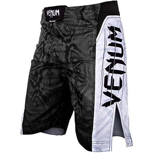 "Venum - Short Deportivo ""Mandíbulas"" para Hombre, Hombre, Color Negro, tamaño XS"