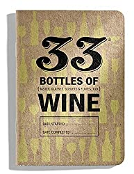 33 Books Co.: 33 Bottles of White Wine, Wine Tasting Journal, 3.5x5 inch, 100% Recycled Paper, Soy-Based Ink