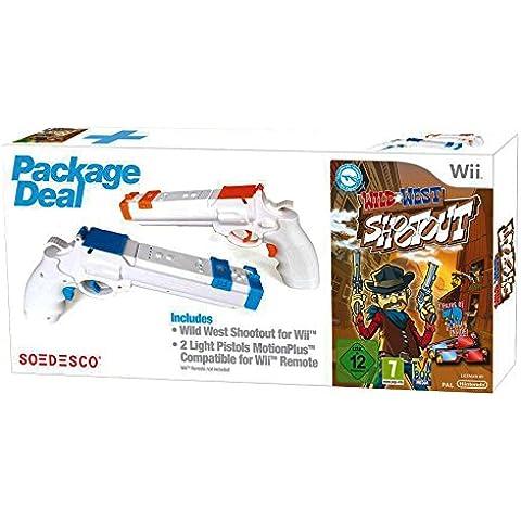 Wild West Shootout + 2 Pistolas Para Mandos Wii