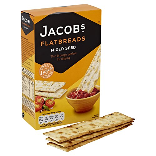 Jacob's Lunchbakes Flatbreads Mixed Seed 150g