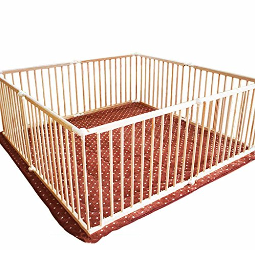 JIMI-I Bebé Plegable Parque de Juegos para niños Centro de Actividades para niños Seguridad Patio de Juegos Hogar Interior al Aire Libre (Tamaño : 150×180×66cm)