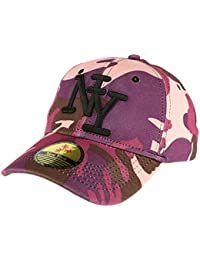 Casquette Baseball Camouflage Sable et Gris Minsk - Homme