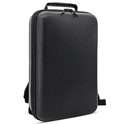 Crazepony-UK Backpack Hard Case Portable Shoulder Bag Waterproof for Drone FPV Mini DJI Mavic Pro