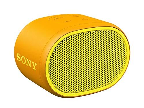 Sony SRSXB01Y - Altavoz inalámbrico portátil (Compacto, Bluetooth, Extra Bass, 6h de...