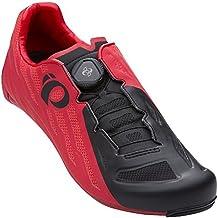 PEARL IZUMI Race Road V5 Zapatillas Ciclismo, Hombre, Rojo/Negro, 47