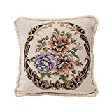 ABsoar Chenille Kissenbezug Square Pillow Cover Cushion Case Toss Pillowcase Hidden Zipper Closur Sofa Decor Hauptbettzimmer Pillow Covers