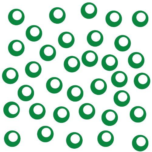 leber zur Dekoration von Wänden, Glasprodukten, Fliesen und allen anderen glatten Oberflächen (Mint Grüne Dekorationen)
