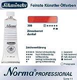 Schmincke Norma Professional, 35ml, Zinnoberrot dunkel