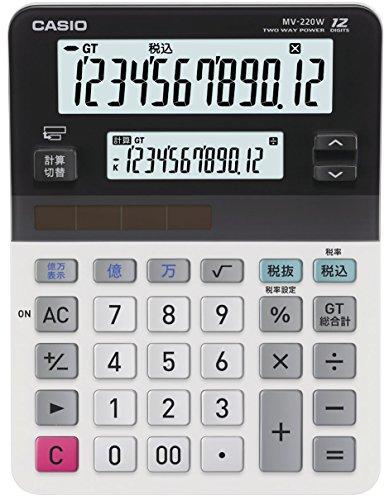 CASIO Mini geben Sie einfach Einzelbetten LCD-Taschenrechner MV-220W-N (Japan-Import) (Mini-taschenrechner Casio)