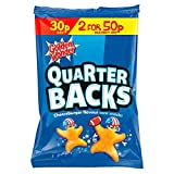 Golden Wonder Quarter Backs Cheeseburger Flavour Corn Snacks 25g 36 Box