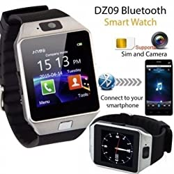 Cubee Bluetooth Smart Watch DZ09 Phone With Camera and Sim Card