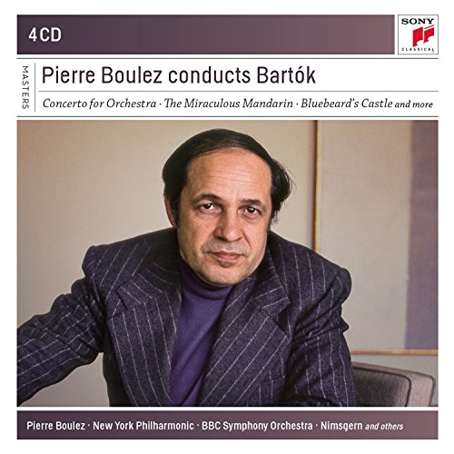 Pierre Boulez dirige Bartòk (Coffret 4 CD)