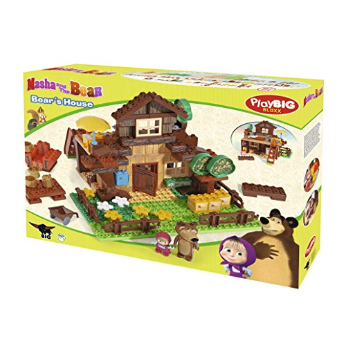 BIG 57098 - PlayBIG Bloxx Masha, Bear\'s House