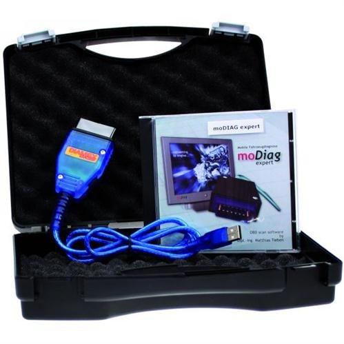 Preisvergleich Produktbild KFZ-Diagnosegerät OBD2 Diamex DX35 Interface Software