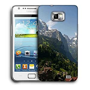 Snoogg Abstract Nature View Printed Protective Phone Back Case Cover For Samsung Galaxy S2 / S II