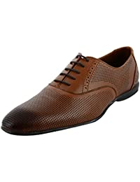 Royal's Rugged Men's Leather Oxford Lace-Up